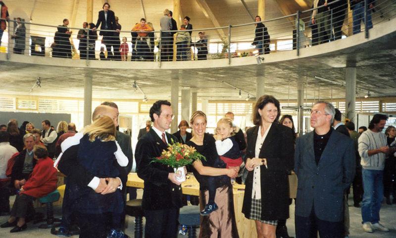 Eröffnung des werkhaus in Raubling