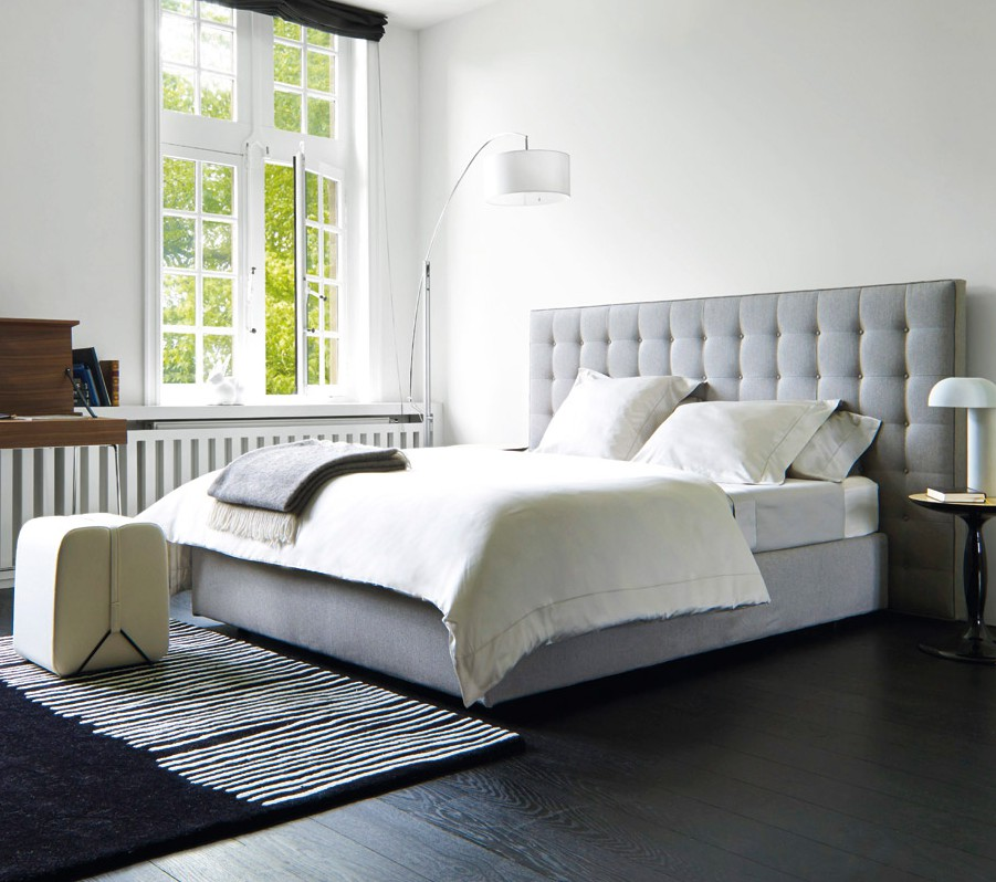 boxspring bett ligne roset. Black Bedroom Furniture Sets. Home Design Ideas