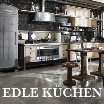 Edle Küchen Dekoration Inspiration Innenraum und Möbel