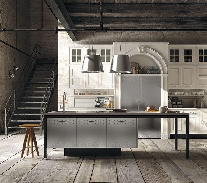 Metall Küche