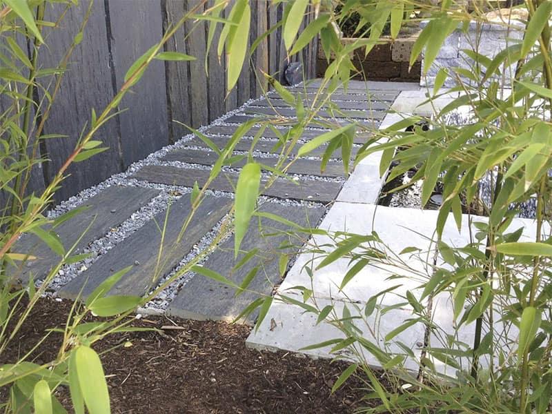 Schieferplatten für die Terrasse