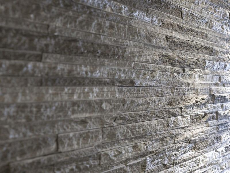 Gartenmauer aus Stein