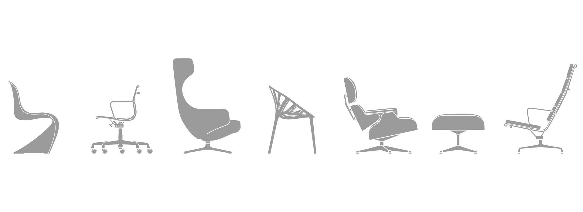 Sitzmöbel von Vitra