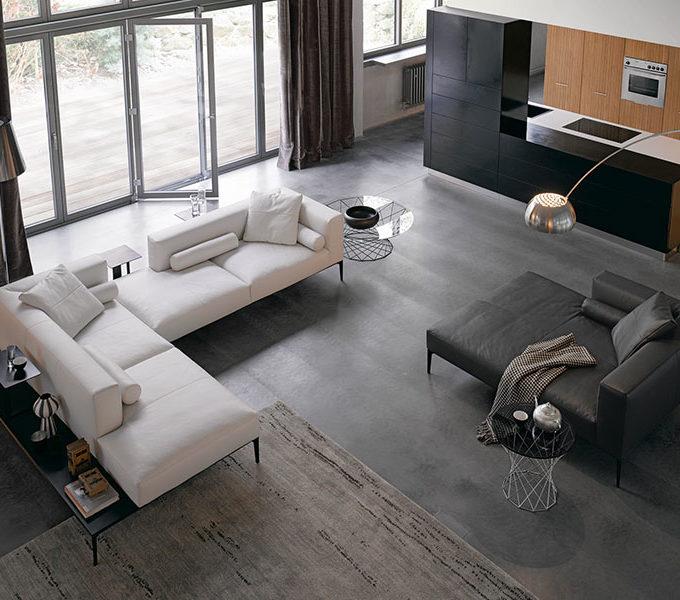 Sofa von Walter Knoll