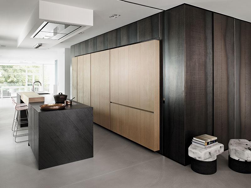 Massivholzküche von Eggersmann im werkhaus
