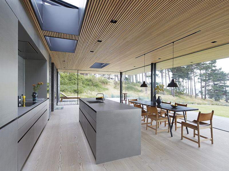 Moderne Küchenarchitektur im Loft von Eggersmann