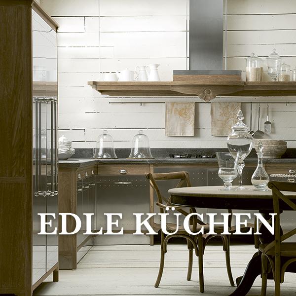 Edle Küchen - Landhausküchen und Herde