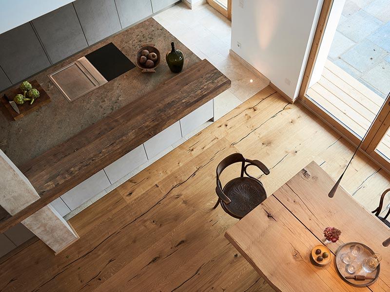 Bora Pro mit Tepan in werkhaus küche