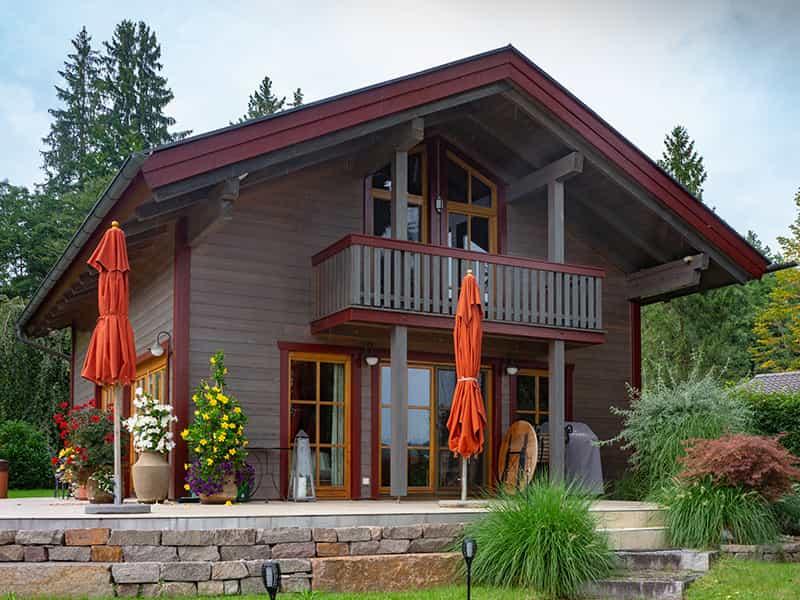 Holzhaus Fassade