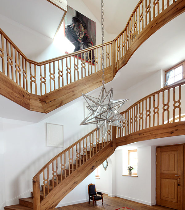 Traditionelle Treppe