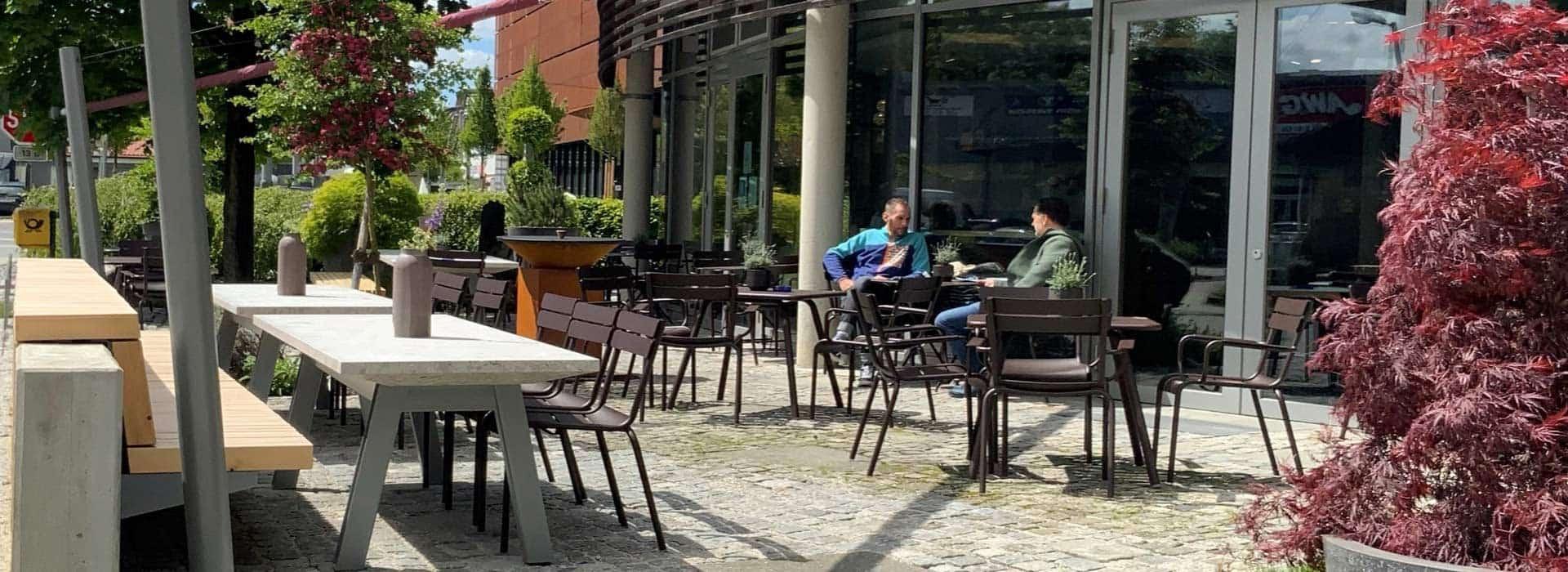 Café und Restauran Leos im werkhaus in Raubling bei Rosenheim